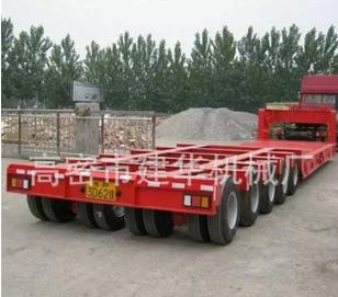 重型拖车载重50吨