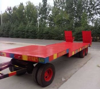20吨挖掘机拖车