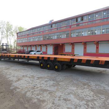 大型平板拖挂车