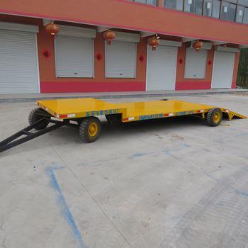 压路机平板拖车