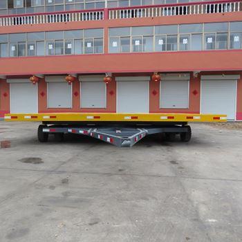 35吨平板拖车