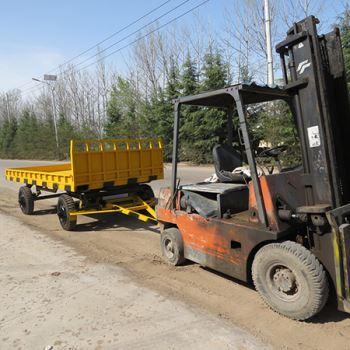 5吨牵引平板拖车