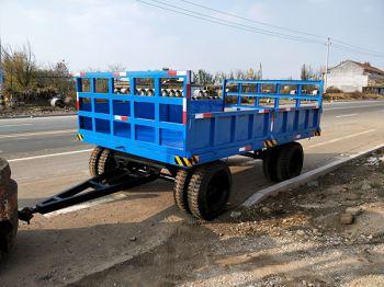 10吨高栏拖车