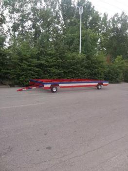 木屋底盘拖车