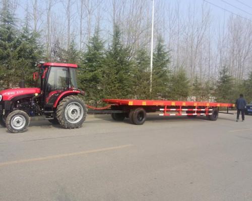 15吨平板拖车